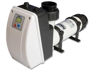 R chauffeur lectrique aqua line 3kw titane pour bassin for Rechauffeur electrique nano 3kw pour piscine hors sol