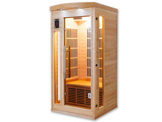 Sauna infrarouge cabine 1 place APOLLON puissance 1295W