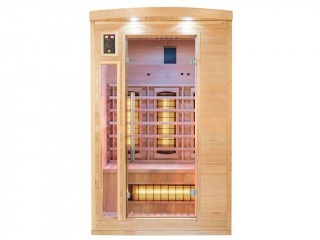 Sauna infrarouge cabine 2 places APOLLON puissance 1800W