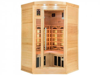 Sauna infrarouge cabine 2-3 places APOLLON puissance 2130W