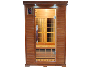 Sauna infrarouge cabine 2 places LUXE puissance 1820W