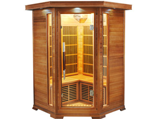 France Sauna - Sauna infrarouge cabine 2-3 places LUXE puissance 1920W