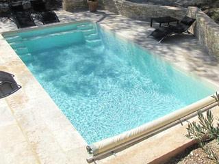 piscine enterr e coque jamaica platinum grise bloc de filtration et margelles sur. Black Bedroom Furniture Sets. Home Design Ideas