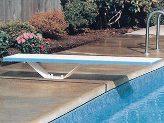 plongeoir droit piscine enterr e complet 244cm avec socle et kit fixation sur march. Black Bedroom Furniture Sets. Home Design Ideas
