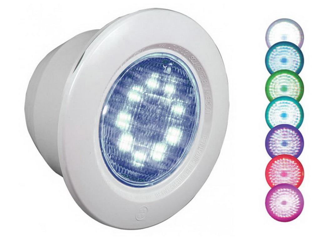 Eclairage Pour Piscine Tubulaire projecteur hayward color logic ii éclairage couleur 9 led pour piscine  enterrée liner