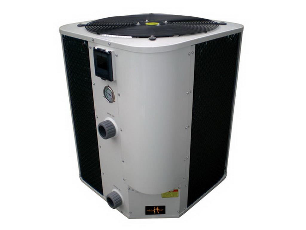 Pompe chaleur megaheat plus defrost titane for Chauffage piscine nano