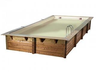 piscine bois 8x3
