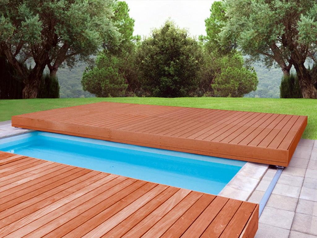 Terrasse Mobile Walu Deck Pour Piscine 10 00 X 5 00m