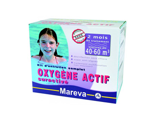 Traitement mareva tcm oxygene actif piscine 40 60m 2 mois ou 80 110m 1 mois sur - Traitement piscine oxygene actif ...