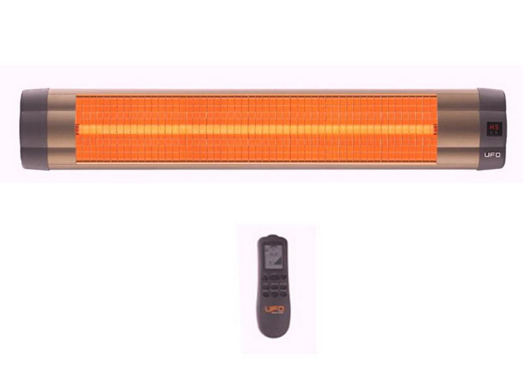 Chauffage infrarouge ufo quartz line puissance 3000w for Puissance chauffage piscine