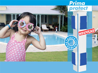 Kit alarme First Innov PRIMAPROTECT 4 segments sans fil piscine enterree NFP90-307