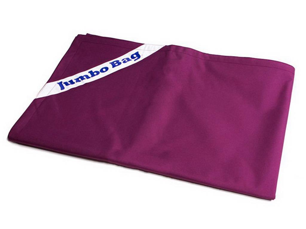 housse de remplacement pour jumbo bag the original coloris aubergine sur march. Black Bedroom Furniture Sets. Home Design Ideas