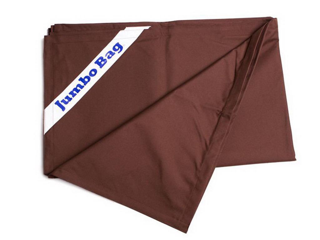 housse de remplacement pour jumbo bag the original coloris chocolat sur march. Black Bedroom Furniture Sets. Home Design Ideas