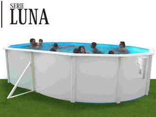 Achat piscine hors sol acier ovale mat riel piscine for Piscine hors sol 1 50 hauteur