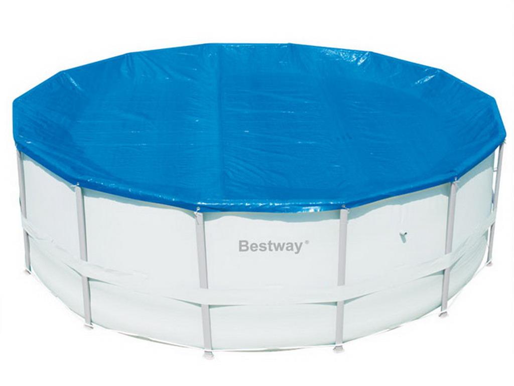 b che d 39 hivernage bestway steel pro 305cm pour piscine hors sol tubulaire sur march. Black Bedroom Furniture Sets. Home Design Ideas