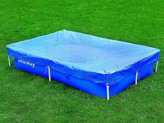 B che d 39 hivernage bestway steel pro 396 x 185cm pour for Produits d hivernage pour piscine hors sol