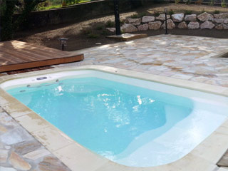 Mini piscine baln oth rapie blue vision excellence 580 x for Piscine bois 4x4