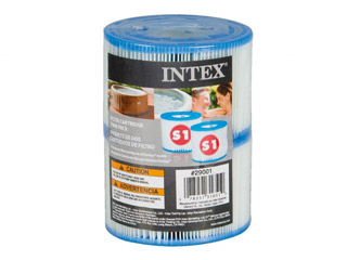 Intex - Lot de 2 cartouches de filtration Intex TYPE S1 pour spa gonflable Intex