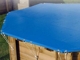 Couverture de s curit ubbink octogonale diam tre for Couverture securite piscine