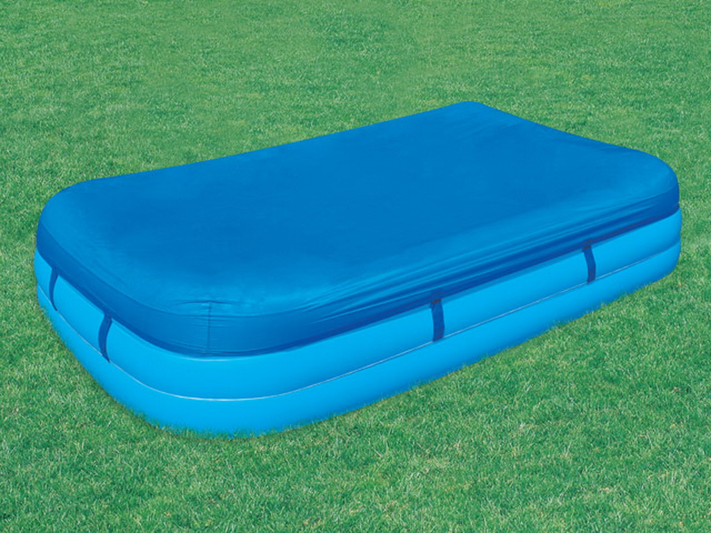 B che 4 saisons bestway pour piscine gonflable for Piscine gonflable rectangulaire