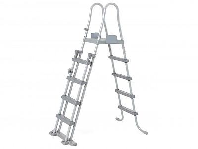 echelle de s curit bestway plateforme pour piscine hors sol jusqu 39 132cm sur march. Black Bedroom Furniture Sets. Home Design Ideas
