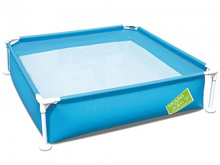 Piscine hors-sol tubulaire Bestway SPLASH AND PLAY 122 x 122 x 30cm bleue