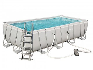Bestway - Kit piscine Bestway POWER STEEL FRAME POOL 549x274x122cm a cartouche