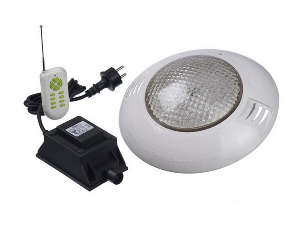 Projecteur piscine hors-sol Ubbink LED 10 RGB Ø10mm avec télécommande