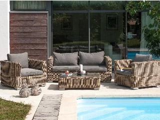 Achat salon de jardin résine tressée - matériel piscine ...