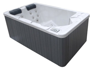 Spa acrylique hors-sol Water Health KAWAI rectangulaire 3 personnes