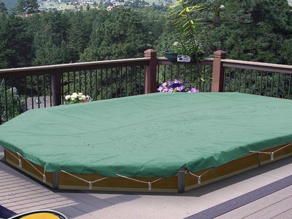 couverture de s curit water clip securis pour piscine. Black Bedroom Furniture Sets. Home Design Ideas