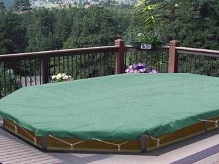couverture de s curit water clip securis pour piscine bois ronde 310cm coloris vert norme nfp. Black Bedroom Furniture Sets. Home Design Ideas