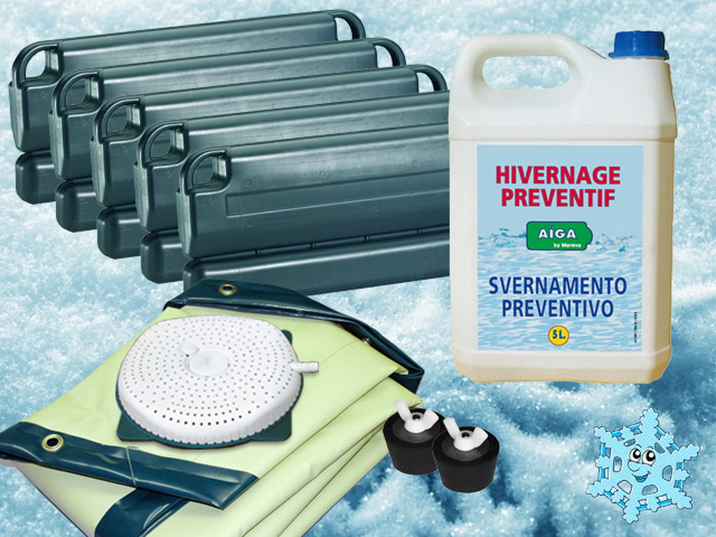 kit dhivernage ice protect complet pour piscine water clip rectangulaire 620 x 310cm taille intrieure sur marchdelapiscinecom - Hivernage Piscine Autoportee Intex