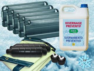 kit d 39 hivernage ice protect complet pour piscine enterr e. Black Bedroom Furniture Sets. Home Design Ideas