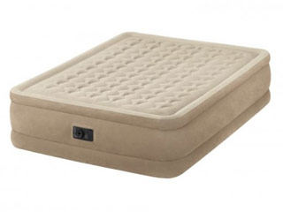 Matelas gonflable Intex ULTRA PLUSH FIBER TECH dimensions 152 x 203 x 46cm 2 places