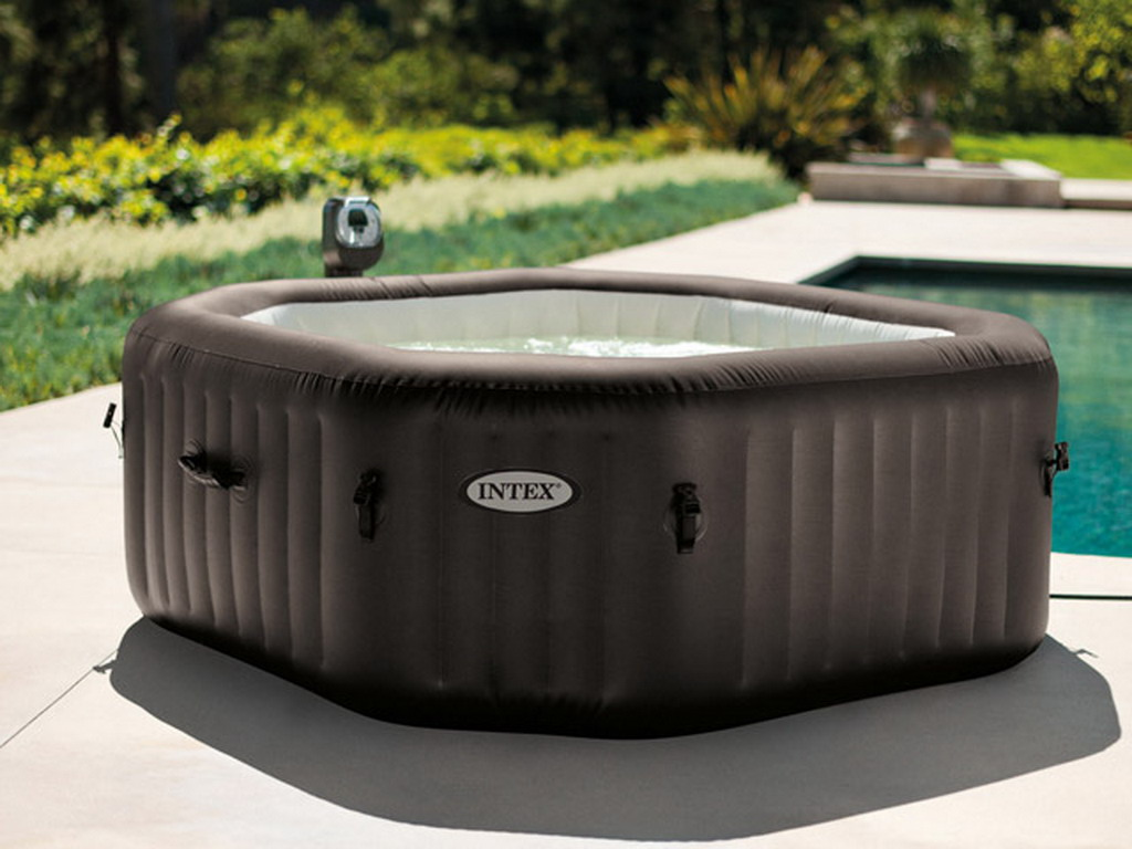 Spa Gonflable Intex PURESPA JETS 6 Places Octogonal