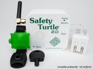 Alarme piscine enfant SAFETY TURTLE 2.0 avec bracelet