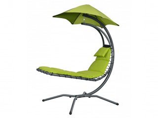 Chaise suspendue ProSolis NEST MOVE 197 x 104 x H200cm coloris vert
