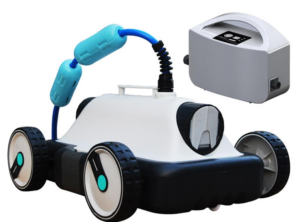 Robot De Piscine Hors Sol Marche De La Piscine