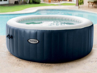Spa gonflable Intex PURESPA PLUS 4 places rond Ø196 x 71cm a LED