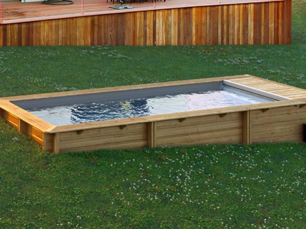 piscine bois hors sol proswell urbaine basic sur march