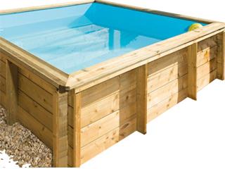 piscine bois junior