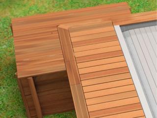 coffre bois filtration sable et pompe chaleur pour piscine urbaine classic sur. Black Bedroom Furniture Sets. Home Design Ideas