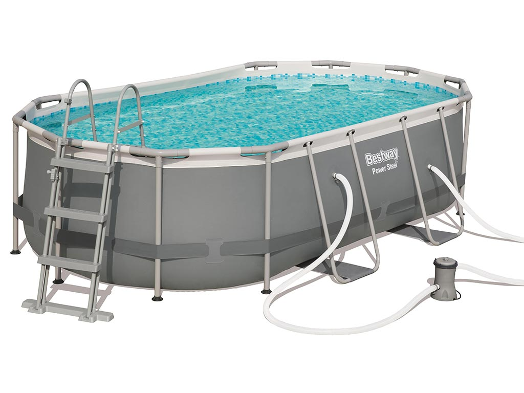 piscine tubulaire bestway power steel 424 x 250 cm
