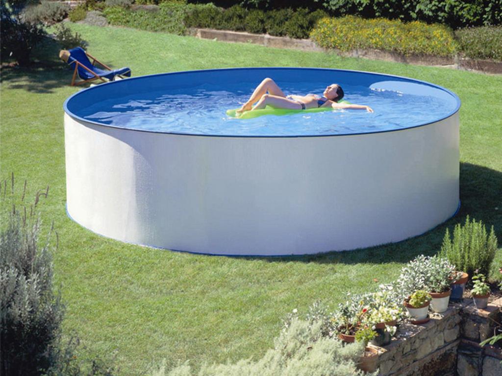 piscine hors sol ovale Saint-Péray
