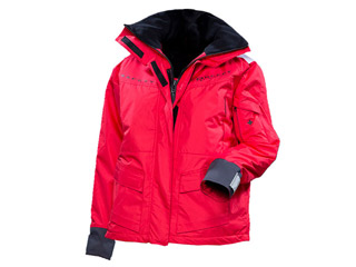 veste de quart flottante rouge pour femme plouf taille xl sur march. Black Bedroom Furniture Sets. Home Design Ideas