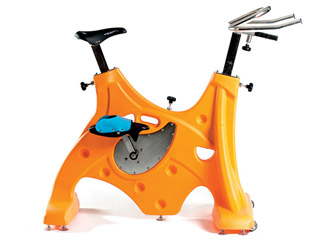 Hexagone - HEXABIKE PREMIUM velo de piscine orange HEXAGONE