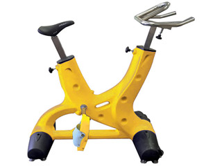 Hexagone - HEXABIKE OPTIMA velo de piscine jaune HEXAGONE