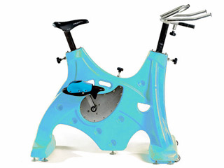 Hexagone - HEXABIKE PREMIUM velo de piscine bleu clair HEXAGONE