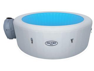 Spa gonflable march de la piscine - Spa semi rigide ...